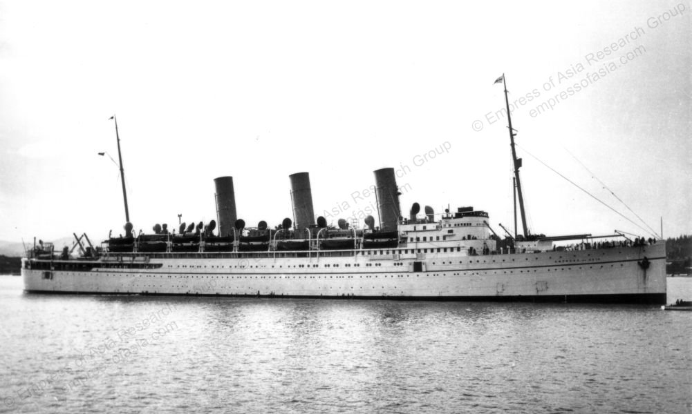 Empress of Asia at Vancouver
